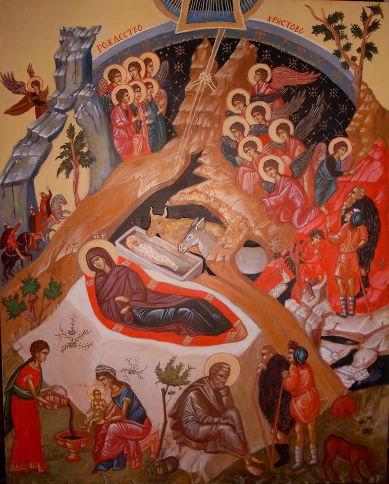 ikona rodjenja Isusa Hrista